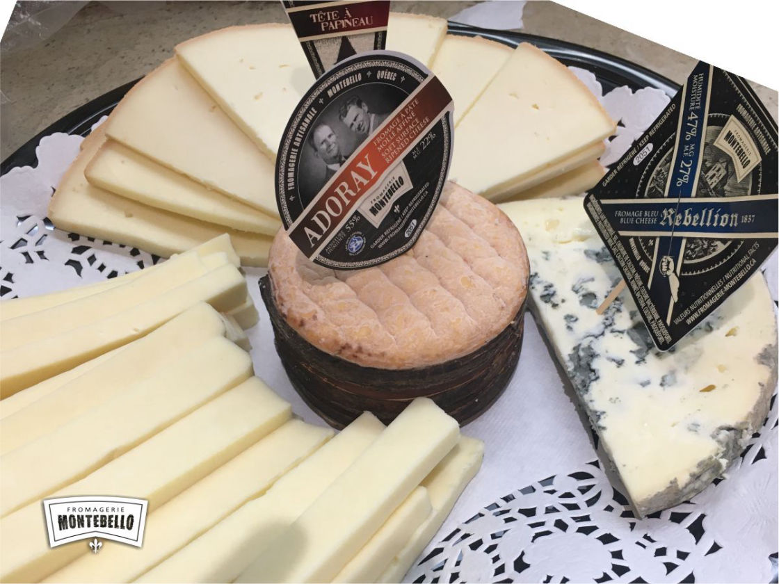 Plateau fromages fins
